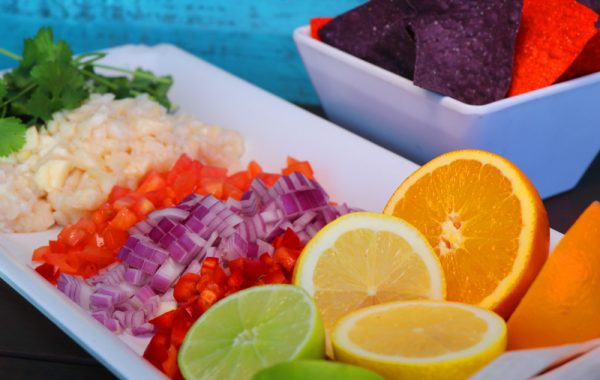 Cracked Conch Salad – $12.50