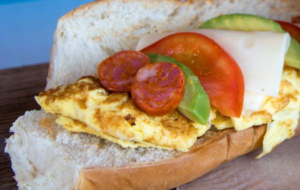 Egg & Cheese Sandwich –  $6.95