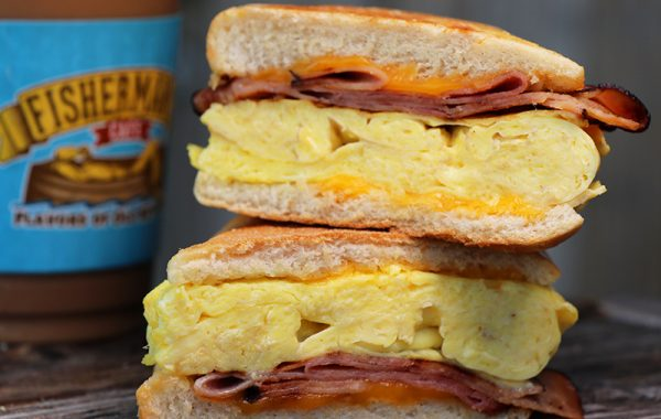 Egg & Cheese Sandwich –  $6.95