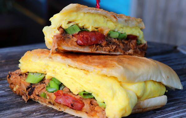 """""""El Cubano"""" Breakfast Sandwich – $9.95"""