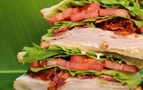 Caribbean Turkey Sandwich – $9.95
