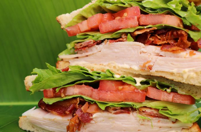 Caribbean Turkey Sandwich – $9.95