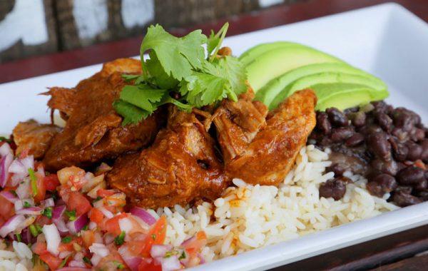 Rice/Salad Island Bowl* – $6.95