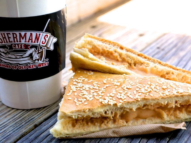 sesame seed sandwich