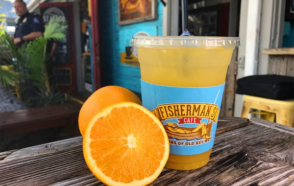 Fresh Squeezed Lemonade or OJ – $4