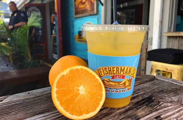 Fresh Squeezed Lemonade or OJ – $4